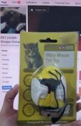 Cat Toy Vibro Mouse