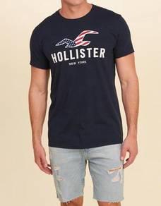 Hollister Graphic Tee - USA Flag Logo