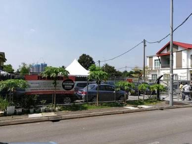 Tanah Lot berhadapan Petronas/McDonalds Setiawangsa