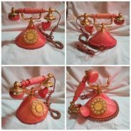 Vintage Mybelle Novelty Decor Deluxe Telephone