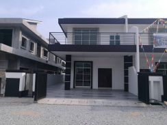 Ipoh Bercham new double storey SEMI-D