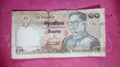 Wang kertas 10bhat thailand for sale