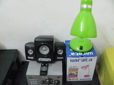 Sonic Gear Speaker USB dan Lampu Belajar