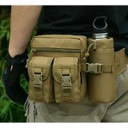 Tactical Military Travel Hiking Water Bottle Fanny
