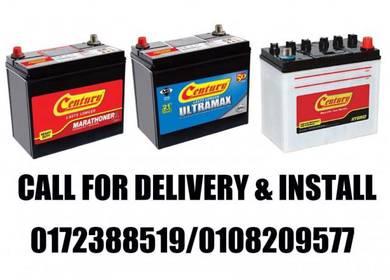 Car battery delivery service century amaron