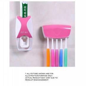 Toothpaste squeezing