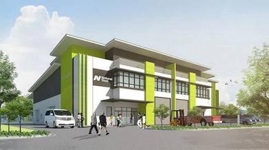 New link factory in telok panglima garang, 4,500sf, freehold
