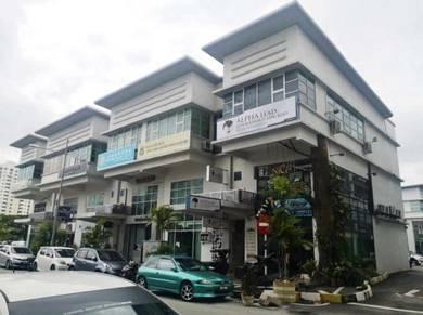 One Square 3 Storey Shop Lot 3300SF BEST BUY , Main Road Bayan Baru