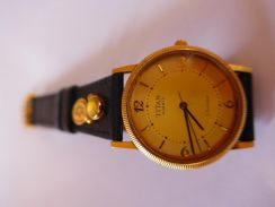 Titan Classique Quartz Watch