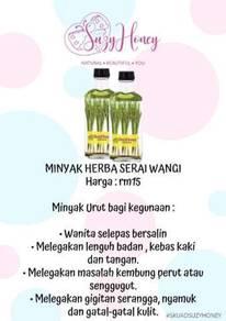 Minyak aromatherapy serai wangi