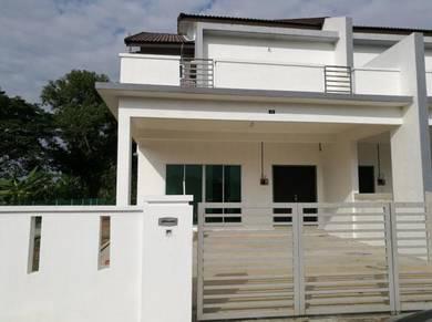 Rumah Semi D Untuk Dijual(Corner lot)
