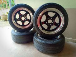 Rim 15 Model Work Master Recond Siap Tayar