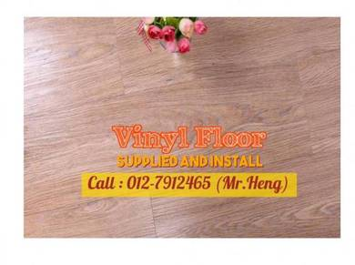 Wood Look PVC 3MM Vinyl Floor 53GH