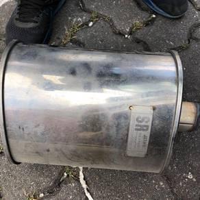 Jasma s-flow exhaust muffler 2 inch (myvi)