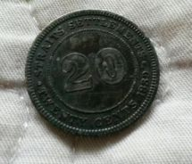 20 Cents Coin 1889