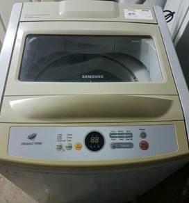 Samsung 8.5kg washing machine mecin basuh good