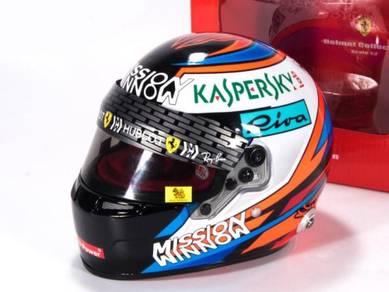 Bell 2018 F1 Kimi 1:2 helmet America station