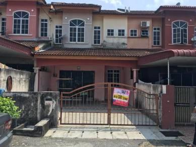 Double storey house at Ipoh Medan Lahat Baru