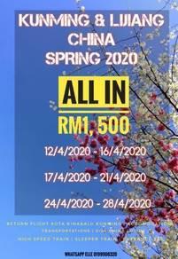 Spring kunming & lijiang china 2020