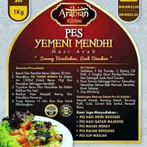 Arabian Kitchen Pes Nasi Arab Mendhi
