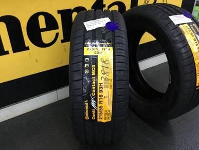 Tyre Continental MC5 215 55 16