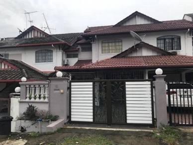 Hurry !!! Double Storey Terrace Taman Sri Bahagia Cheras