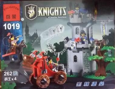Bricks - EN 1019 Forest Fort Castle ( Knight )