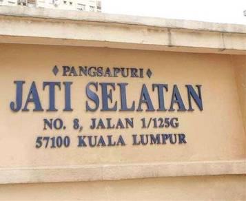 Pangsapuri Jati Selatan 826sqft Desa Petaling BELOW MKT 100% FULL LOAN