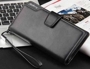 Genuine Leather Baellery Men's Wallet Clutch Bag