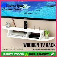 Wooden TV Rack - Rak TV Serbaguna (21)