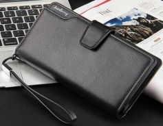 Genuine Leather Baellery Men's Wallet Clutch Bag
