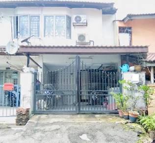 |FREEHOLD|BOOKING RM1K|- 2 Storey Terrace, Taman Segambut Damai, KL