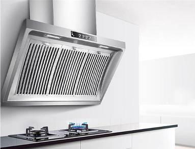 Kitchen hood cooker stainless steel
