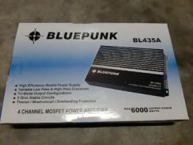 Power amp 4ch 6000watt