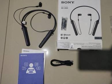 Sony wi-c400 wireless earphone