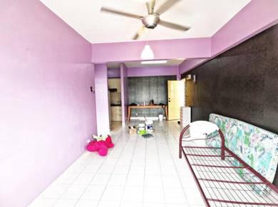 [Depan Lrt] Mawar Apartment, Sentul, kl, guna kwsp