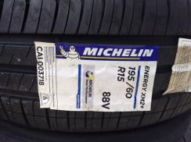 195/60/15 Michelin Energy XM2+ Plus Tyre Tayar