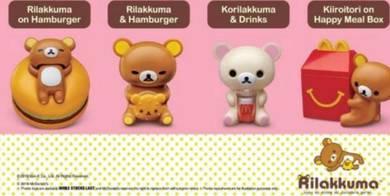 McDonald's Rilakkuma & Kiiroitori