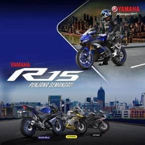 New Yamaha YZF R15 DP 370 Super Low Deposit