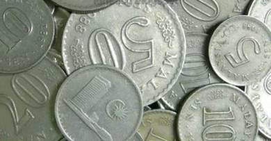 Duit syiling lama 60-an 70-an dan 80-an