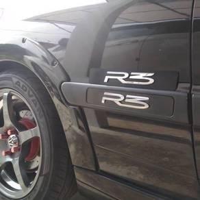 Emblem R3 Side Molding