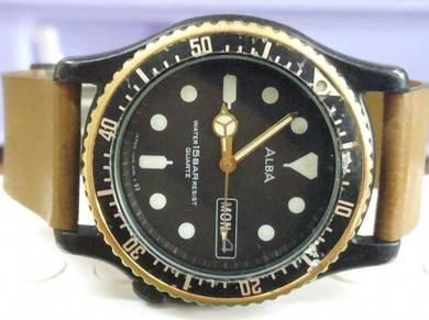 Vintage Alba diver watch