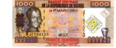 Guinee Commemorative Banknote UNC