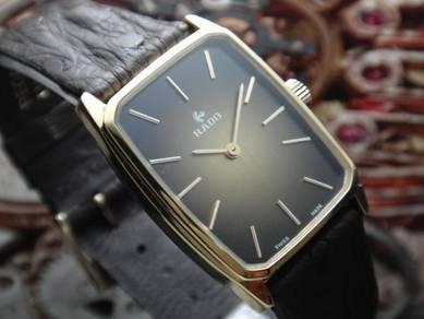 546) rado vintage winding men watch