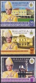 Mint Stamp Sultan Mizan Zainal Abidin Msia 1999
