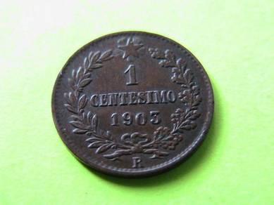 Italy 1 Centesimo 1903 R [Kod : A1215]