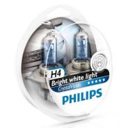H4 Philips Crystal Vision 4300K