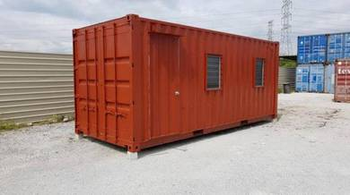 20' Container fully fabricated Delivery to Jasin