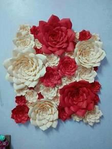 Bunga kertas utk ditempah
