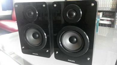 Philips mini hi fi speakers